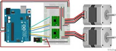 drive a stepper motor with an arduino and a a4988