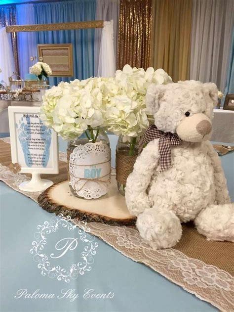 teddy baby shower centerpieces 25 best ideas about teddy baby shower on