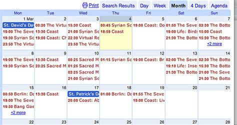 Insert Calendar Spreadsheet Updating Calendars From A Spreadsheet