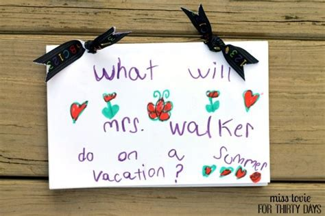 Love From Me Gift Card - teacher gifts ideas for gifts that teachers will love