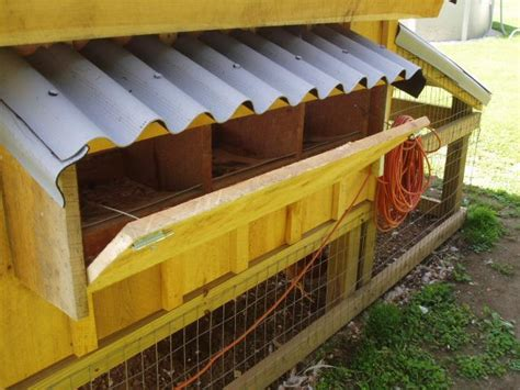 Backyard Chickens Nesting Boxes Exterior Nesting Boxes Backyard Chickens