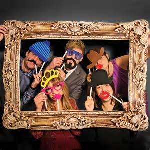 Photo Booth Frame 24 Cardboard Photo Booth Props And A Frame For Parties And Events