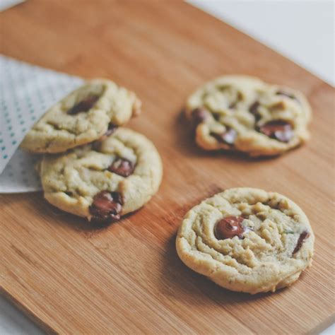 Bourbon Butter Cookies bourbon chocolate chip cookies recipe kitchenbowl