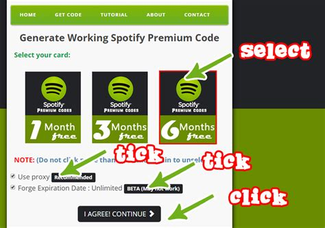 get free spotify premium codes no required hacks and glitches portal - Free Spotify Premium Android