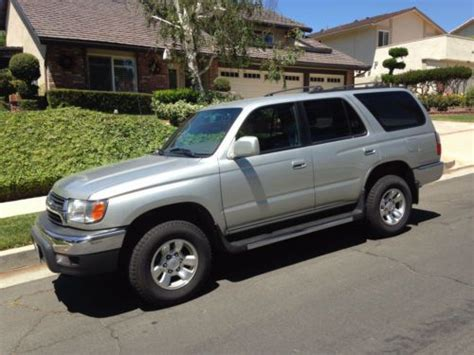 buy car manuals 2002 toyota 4runner electronic toll collection sell used 2002 toyota 4runner sr5 w towing package 1 owner running boards roofrack in