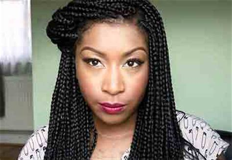 box braids with bangs african american braided hairstyles with bangs