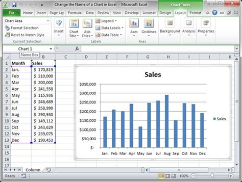 change layout of excel table change the name of a chart in excel teachexcel com
