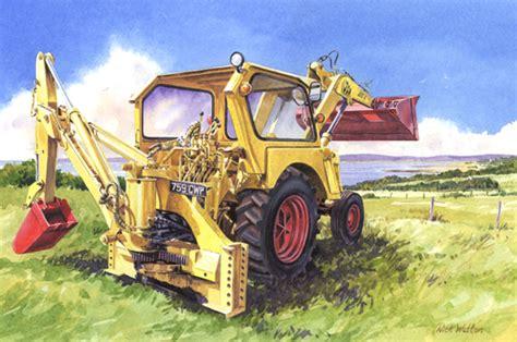 jcb painting jcb 4 nick watton artist