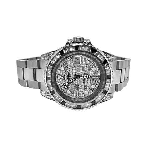 gmt cz custom mens bling bling luxury hip hop