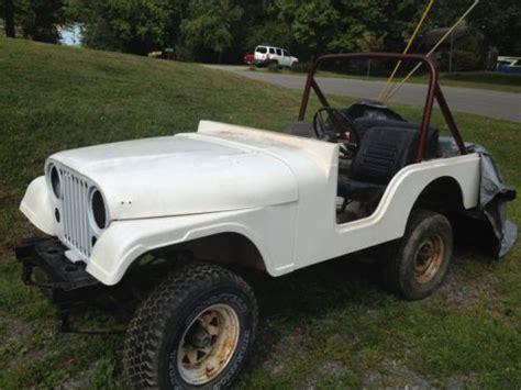 Jeep Fiberglass Tub Purchase Used 1979 Jeep Cj5 Project New Fiberglass Tub