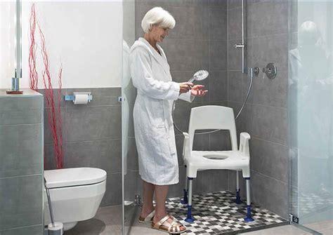 sedie per doccia anziani sedia per doccia e wc per anziani e disabili