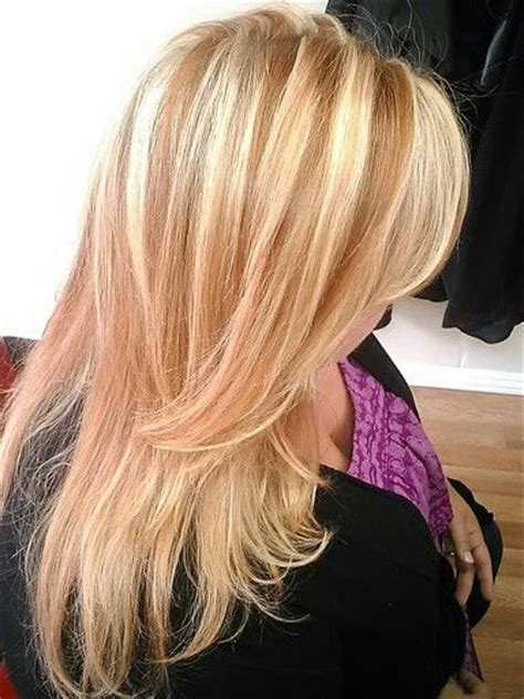 hairstyles of copper blonde hivhlights pin by katie michel on style fashion beauty pinterest