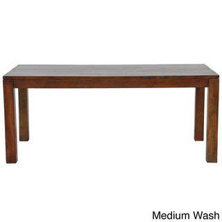 82 inch dining table hamshire 82 inch dining table overstock com shopping