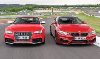 Audi S5 V8 Technische Daten by Bmw M4 Audi Rs 5 Vergleichstest Autozeitung De