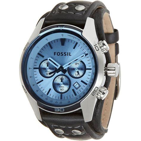 fossil s coachman sport cuff chronograph