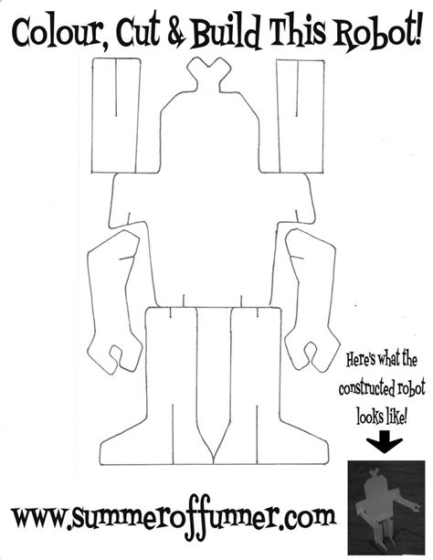 66 Best Images About Robot Kids Crafts On Pinterest Crazy Faces Pipe Cleaners And Coloring Pages Printable Pipe Cutting Templates