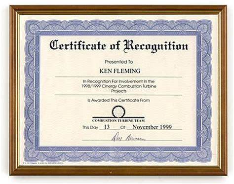 Best Functional Resume by 8 5 X 11 Certificate And Award Frame