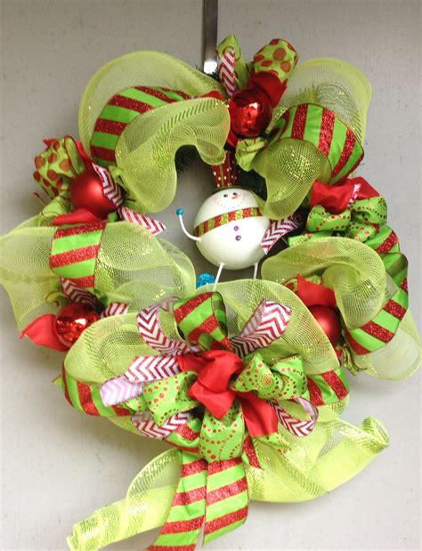 whimsical christmas wreath christmas decorations