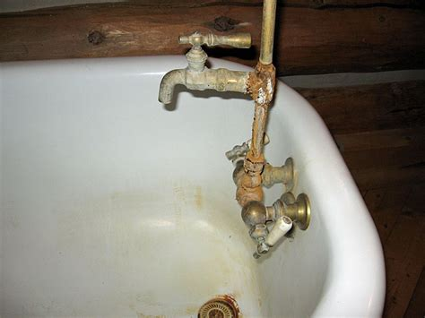 how to replace old bathtub faucet how to replace a clawfoot tub faucet and waste and