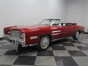 Eldorado Cadillac For Sale 1975 Cadillac Eldorado Convertible For Sale