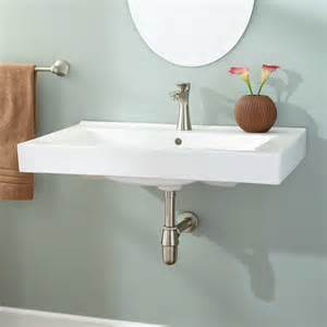 how to install a wall mount bathroom sink how to install a wall mount sink