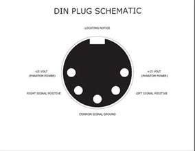 5 pin din gt stereo rca diyaudio