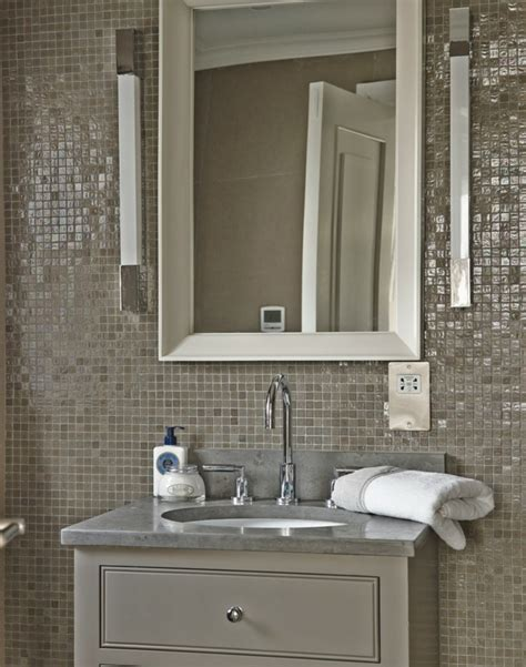 mosaic tiles in bathrooms ideas wall decoration in the bathroom 35 ideas for bathroom