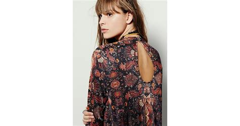 Free Fp Poopsy Floral Dress Branded Murah lyst free fp new romantics floral dress in blue