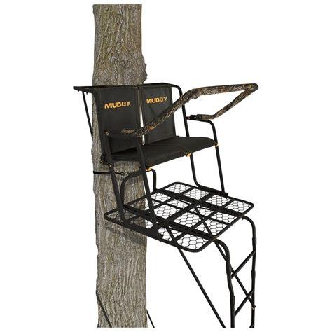 17 foot tree muddy partner 17 ladder tree stand 640769 ladder tree