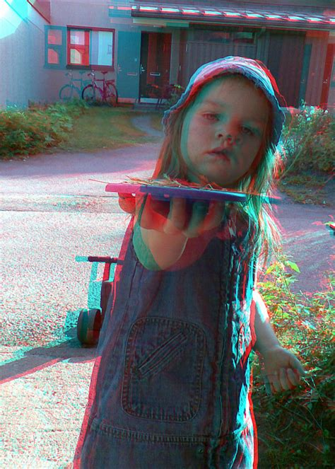 3d little girl pw the world s best photos of anaglyph and girl flickr hive