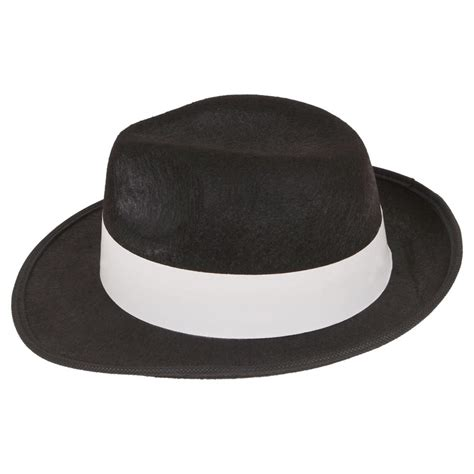 How To Make A Detective Hat Out Of Paper - white felt gangster 1940 s al capone detective business
