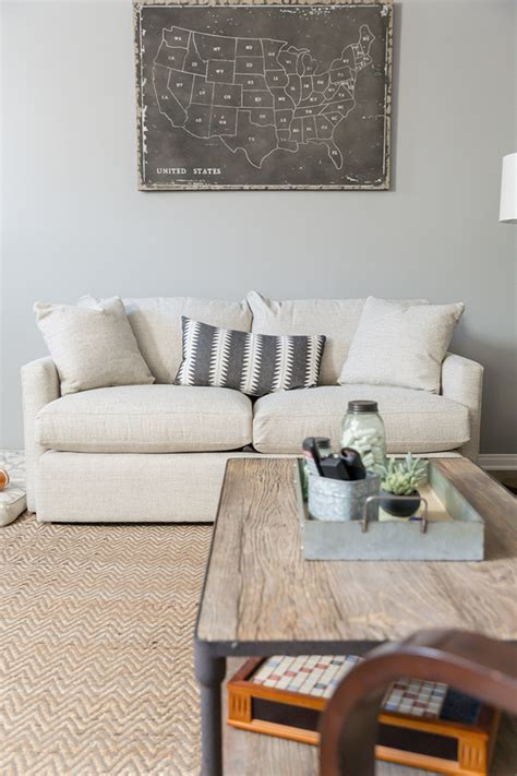 crate in living room home tour the living room modish