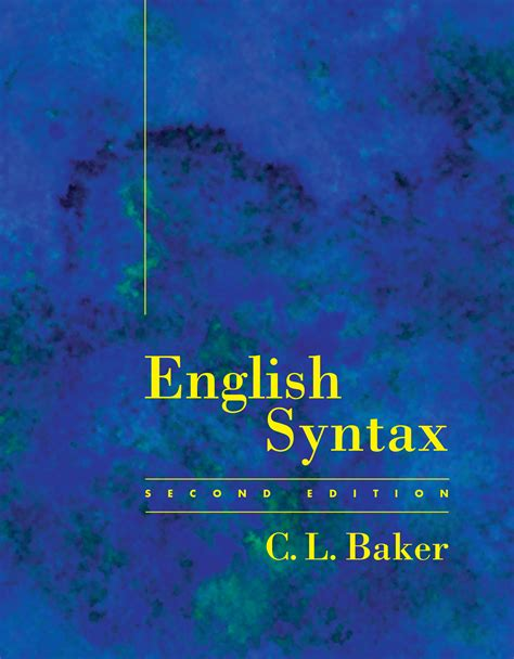 Modification Syntax by Syntax The Mit Press
