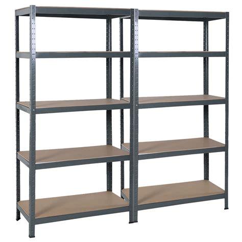 Steel Garage Shelves by Convenience Boutique 72 Quot Heavy Duty Steel 5 Level Garage