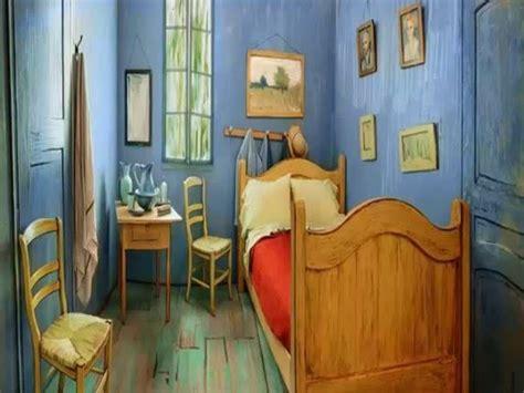 vangoghs bedroom van gogh s bedroom recreated in chicago as airbnb rental youtube