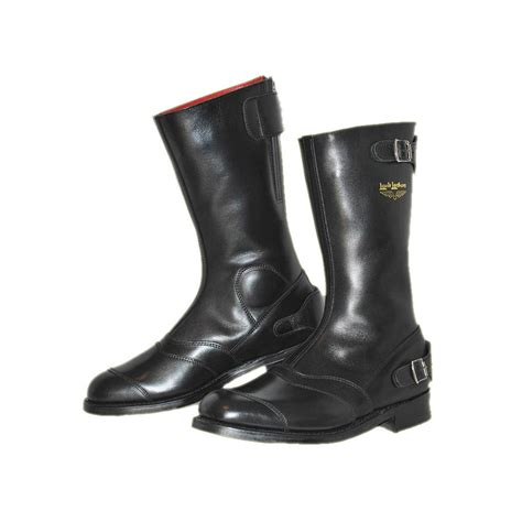 motorcycle racing boots classic motorcycle boots lewis leathers 178 racing black