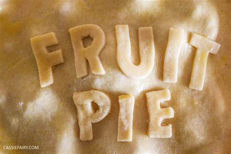 pieday friday a collection of fruit pie recipes cassiefairy my thrifty life