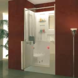 walk in bathtub shower combo outswing door us made
