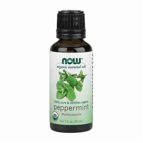 Aromatherapy 100 Ml Pepermint now peppermint essential certified organic 30ml