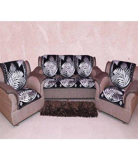 black floral sofa mhf black floral velvet sofa cover set of 6 buy mhf