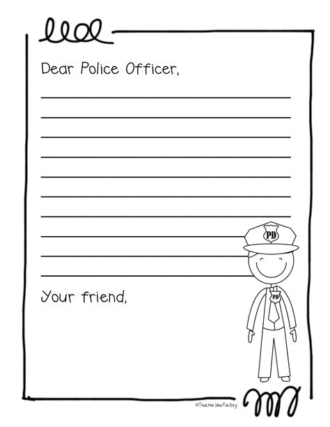 thank you card template for officers five for friday the saga continues and a