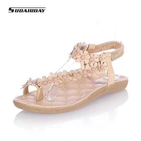 Wedges Premium Quality Big Promo Fashion Import 2 aliexpress buy new 2016 fashion flowers shoes bohemia flower beaded flat