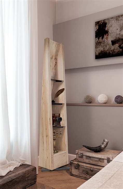 tree trunk decor ideas tables stools mirrors