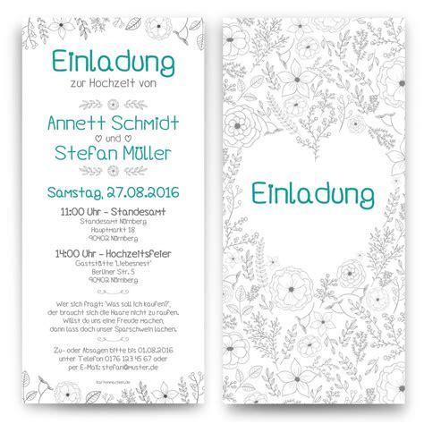 Beispieltext Hochzeitseinladung by Hochzeitseinladung Im Bleistiftszeichnung Motiv
