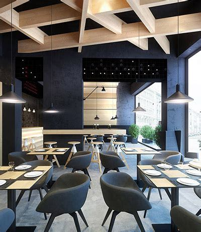 interior design news contemporary cafe design in ukraine commercial interior