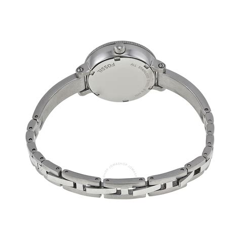 Fossil Silver Stainless Steel fossil silver stainless steel bq1200 fossil watches jomashop