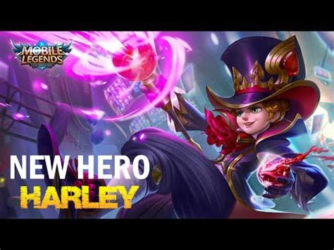 mobile legends harley mobile legends new hero harley first look at next update