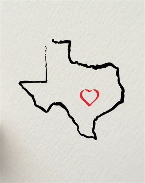 texas outline tattoo 25 best ideas about tattoos on