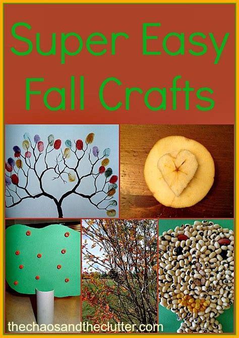 easy fall crafts easy fall craft