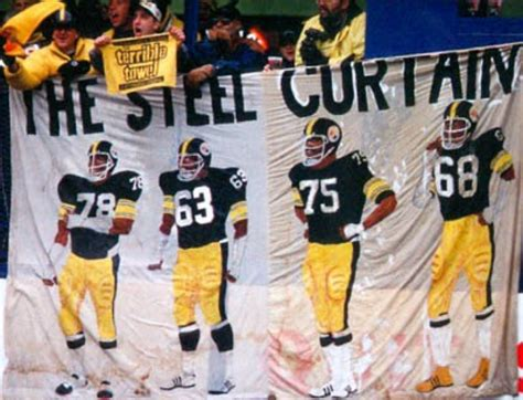 pittsburgh steelers iron curtain steel curtain members myideasbedroom com